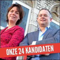 Onze 24 kandidaten